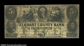 Obsoletes By State:Indiana, Goshen, IN - Elkhart County Bank $5 Oct. 1, 1853 G6