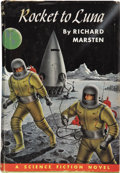 Books:First Editions, Richard Marsten [pseudonym for Evan Hunter]. Rocket to Luna.Philadelphia: The John C. Winston Company, 1953.. ...