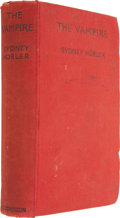 Books:First Editions, Sydney Horler. The Vampire. London: Hutchinson & Co.,1935.. ...