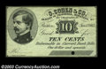 Obsoletes By State:Massachusetts, Boston, MA- S. Cohen & Co. 10¢, 25¢ Jan. 1, 1863
