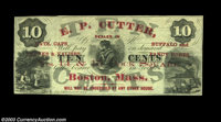 Boston, MA- E.P. Cutter 10¢ A neat full size piece of scrip from an issuer we've not seen before, and the only such...