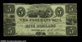 Obsoletes By State:Massachusetts, Boston, MA- The Freemans Bank $5 April 10, 1848 A25
