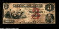 Obsoletes By State:Massachusetts, Boston, MA- The Howard Bank $3 Nov. 1, 1860 G6a