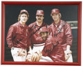 Autographs:Photos, St. Louis Cardinals Signed Photographs Lot of 4. The offered lot consists of four autographed and framed photographs of mo...