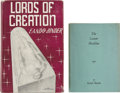 Books:First Editions, Eando Binder [pseudonym of Earl and Otto Binder]. Two Classic SmallPress Books, including: Lords of Creation. Phila... (Total:2 Items)