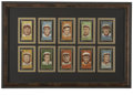 Baseball Collectibles:Others, 1911 T205 Gold Border St. Louis Cardinal Cards Lot of 10. A group lot of 10 St. Louis Cardinals from the 1911 T-205 Gold Bo...