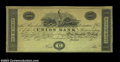 Obsoletes By State:Massachusetts, Boston, MA- The Union Bank $100 G246 Proof