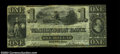Obsoletes By State:Massachusetts, Boston, MA- The Washington Bank $1 Nov. 21, 1848 G8