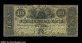 Obsoletes By State:Rhode Island, Bristol, RI - Commercial Bank $10 May 17, 1844 A10 Durand ...
