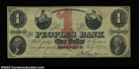 Derby Line, VT - Peoples Bank $1 July 1, 1862 S5 Coulter 10* Fine; $2 July 1, 1862 S10 Coulter 14* Fine; $3 May 4, 1859...