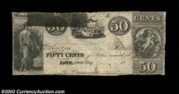 Astor, (Green Bay), WI- Unissued Scrip 50¢ Krause 6 A very scarce piece of circa 1830's scrip from the Astor Compan...