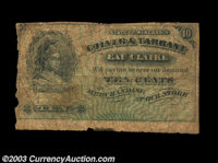 Eau Claire, WI- Culver and Tarrant 10¢ Krause SC2 A Very Good example of this difficult to find issue, with a bit o...