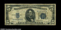 Error Notes:Inverted Reverses, Fr. 1650 $5 1934 Inverted Reverse Silver Certificate, Very ...