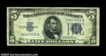Error Notes:Inverted Reverses, Fr. 1651 $5 1934A Inverted Reverse Silver Certificate, About ...
