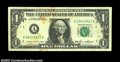 Error Notes:Inverted Reverses, Fr. 1913-A $1 1985 Inverted Reverse Federal Reserve Note, ...