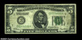 Error Notes:Inverted Reverses, Fr. 1950-C $5 1928 Inverted Reverse Federal Reserve Note, ...