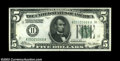 Error Notes:Inverted Reverses, Fr. 1950-K $5 1928 Inverted Reverse Federal Reserve Note, ...