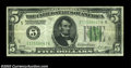 Error Notes:Inverted Reverses, Fr. 1951-E $5 1928A Inverted Reverse Federal Reserve Note, ...
