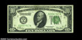 Error Notes:Inverted Reverses, Fr. 2001-B $10 1928A Inverted Reverse Federal Reserve Note, ...