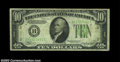 Error Notes:Inverted Reverses, Fr. 2006-B $10 1934A Federal Reserve Note, Very Good-Fine. ...