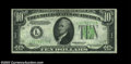 Error Notes:Inverted Reverses, Fr. 2006-L $10 1934A Inverted Reverse Federal Reserve Note, ...