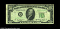 Error Notes:Inverted Reverses, Fr. 2011-B $10 1950A Inverted Reverse Federal Reserve Note, ...