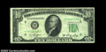 Error Notes:Inverted Reverses, Fr. 2011-H $10 1950A Inverted Reverse Federal Reserve Note, ...