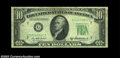 Error Notes:Inverted Reverses, Fr. 2012-G $10 1950B Inverted Reverse Federal Reserve Note, ...