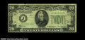 Error Notes:Inverted Reverses, Fr. 2054-J $20 1934 Inverted Reverse Federal Reserve Note, ...