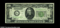 Error Notes:Inverted Reverses, Fr. 2055-G $20 1934A Inverted Reverse Federal Reserve Note, ...