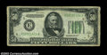 Error Notes:Inverted Reverses, Fr. 2103-E $50 1934A Federal Reserve Note. Very Fine.
