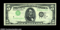 Error Notes:Inverted Third Printings, Fr. 1962-D $5 1950A Federal Reserve Note, About Uncirculated....