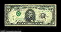 Error Notes:Inverted Third Printings, Fr. 1973-L $5 1974 Federal Reserve Note, Fine-Very Fine.
