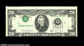 Error Notes:Inverted Third Printings, Fr. 2076-A $20 1988A Federal Reserve Note, Extremely Fine-...