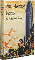 Books:First Editions, Philip Latham: Association Copy of Five Against Venus.(Philadelphia: The John C. Winston Company, 1952), firstedition,...