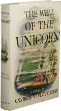 Books:First Editions, George U. Fletcher: The Well of the Unicorn. (New York:William Sloan Associates, Inc., 1948), first edition, 338 pages,...