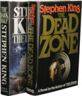 Books:First Editions, Two Stephen King First Editions, including:. The Dead Zone.(New York: The Viking Press, 1979), first edition, 426 p... (Total:2 )