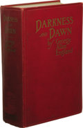 Books:First Editions, George Allan England: Darkness and Dawn. (Boston: Small,Maynard and Company, 1914), first edition, 672 pages, maroon cl...