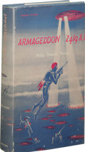 Books:First Editions, Philip Francis Nowlan: Armageddon 2419 A.D.. (New York: Avalon Books, 1962), first edition, 224 pages, blue cloth with b...