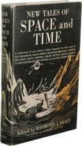 Books:First Editions, Raymond J. Healy, editor: New Tales of Space and Time. (NewYork: Henry Holt and Company, 1951), first edition, 294 page...