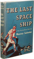 Books:First Editions, Murray Leinster: The Last Space Ship. (New York: FrederickFell, Inc., 1949), first edition, 239 pages, blue quarter-clo...