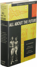 Books:First Editions, Martin Greenberg, editor: All About the Future. (New York:Gnome Press, 1955), first edition, 374 pages, orange quarter-...