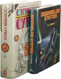 Books:First Editions, Two C.J. Cherryh Novels, including:. Cyteen. (New York:Warner Books, 1988), first edition, 680 pages, gray quarter-...(Total: 2 )