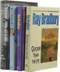Books:Signed Editions, Ray Bradbury: Four 1990s and 2000s First Editions, Two Signed, including:. Quicker Than the Eye. (New York: Avon Boo... (Total: 4 )