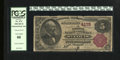 National Bank Notes:Missouri, Saint Louis, MO - $5 1882 Brown Back Fr. 474 The NB of Commerce Ch.# 4178. The president on this note is W.H. Thompson....