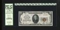 """National Bank Notes:Pennsylvania, Rochester, PA - $20 1929 Ty. 2 The First NB Ch. # 2977. From our 2006 Long Beach sale where the description read, """"Embos..."""