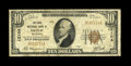 National Bank Notes:Oklahoma, Depew, OK - $10 1929 Ty. 1 The State NB Ch. # 12104. This bank, which issued Series 1929 examples only, was the sole Nat...