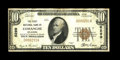 National Bank Notes:Oklahoma, Comanche, OK - $10 1929 Ty. 1 The First NB Ch. # 6299. This is a just plain rare note from the only collectible bank in ...