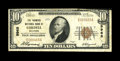 National Bank Notes:Oklahoma, Cordell, OK - $10 1929 Ty. 1 The Farmers NB Ch. # 9968. This was the only bank of the five chartered in this community o...