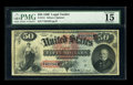 Large Size:Legal Tender Notes, Fr. 151 $50 1869 Legal Tender PMG Choice Fine 15. Fr. 151 is a onenumber type that has always been a challenge to locate in...
